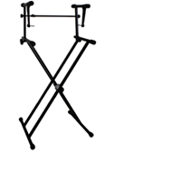 Picture of STR Double Tier Keyboard Stand