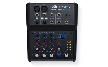 Picture of ALESIS MULTIMIX 4 USB FX