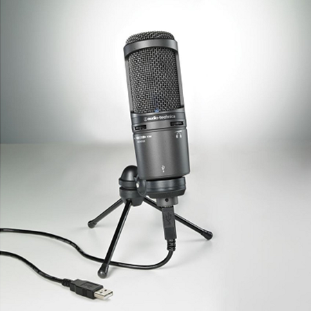 Picture of Audio Technica AT2020USB+