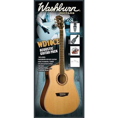 Picture of WASHBURN WD10CEPACK