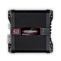 Picture of SounDigital SD1200.1D 1200rms 1ohm Amplifier