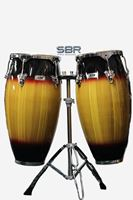 Picture of STR Conga Drums Fiber Glass 10 + 11""