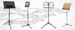 Picture for category MUSIC SHEET STANDS