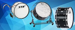 Picture for category Marching Bass Drums