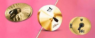 Picture for category MARCHING CYMBALS
