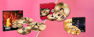 Picture for category CYMBAL SETS
