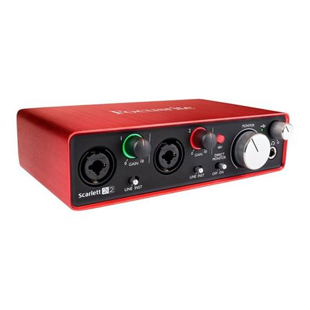 Picture of FOCUSRITE SCARLETT 2I2 GEN 2 USB Audio Interface