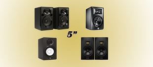 "Picture for category 5"" STUDIO MONITORS"