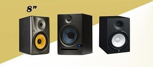 "Picture for category 8"" STUDIO MONITORS"