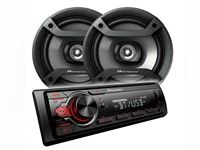 Picture of Pioneer MXT-S216 BT Bluetooth Car Radio Combo