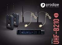 Picture of Prodipe UHF B210 DSP Headset Duo