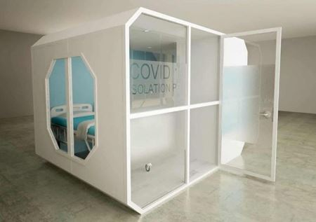 Picture of Isopod Womb En Suite Isolation Ward