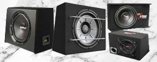 Picture for category SUBWOOFERS & ENCLOSURES