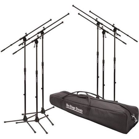 Picture of On Stage MSP77066 Euroboom Mic Stands w/ Bag