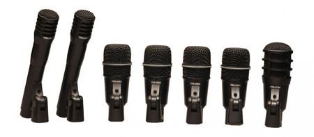 Picture of Superlux DRKA5C2 7pce Drum Microphone Set