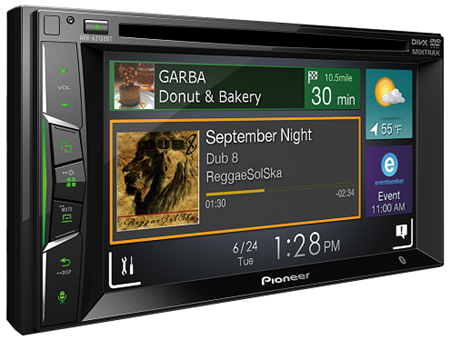 Picture of Pioneer AVH-A2150BT