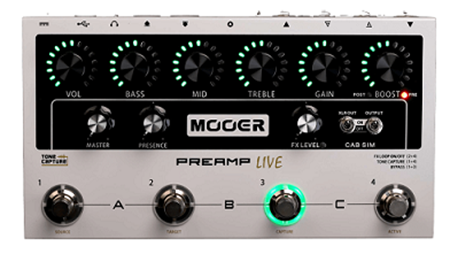 Picture of Mooer Preamp Live