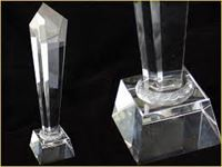Picture of Glass Sail Trophy  JL075A
